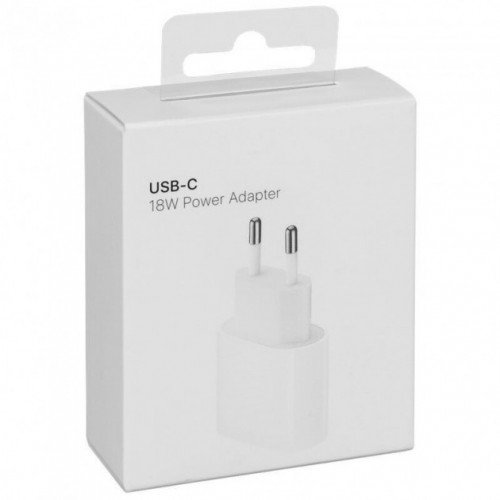 Apple USB-C 18W Power Adapter для iPhone, iPad