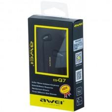 Проводные наушники AWEI ES-Q7 Black