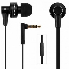 Проводные наушники AWEI ES900i Wired Earphones Black