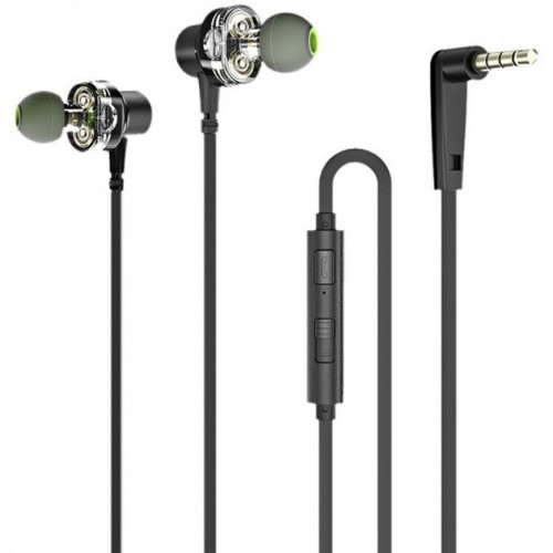 AWEI Z1 Wired Earphones Black