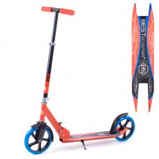 Детский двухколесный самокат Best Scooter с зажимом руля, 20 см