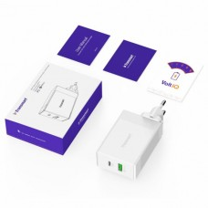 Tronsmart W2DT 48W USB PD Wall Charger with Quick Charge 3.0 White