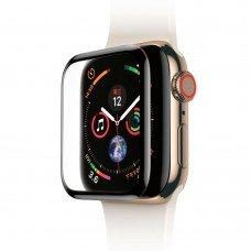 Защитное стекло Baseus 0.3mm Full Screen Curved Tempered Glass Black для Apple Watch 40 mm SE | 6 | 5 | 4