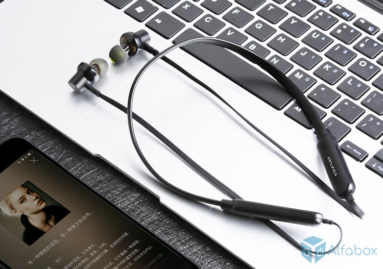 AWEI G20BL Bluetooth Earphones Black купить в киеве