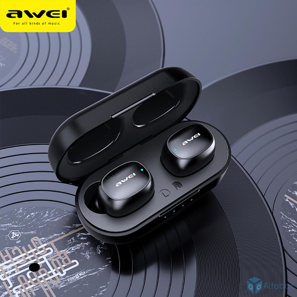 Беспроводные наушники AWEI T13 TWS Bluetooth Earphones Black купить