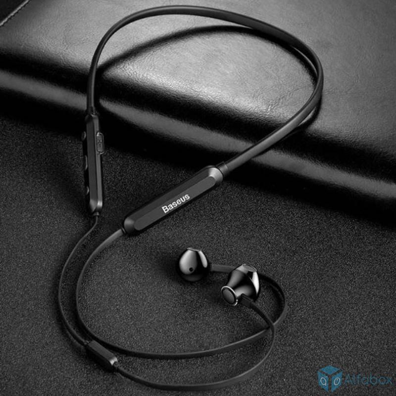 купить беспроводные наушники Baseus Encok Necklace Wireless Earphone S11A