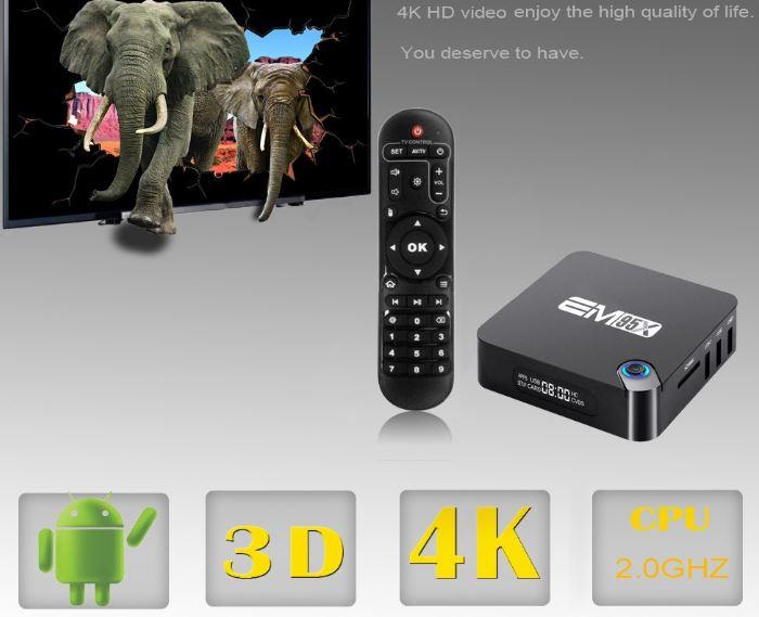4K мультимедиа центр EM95X