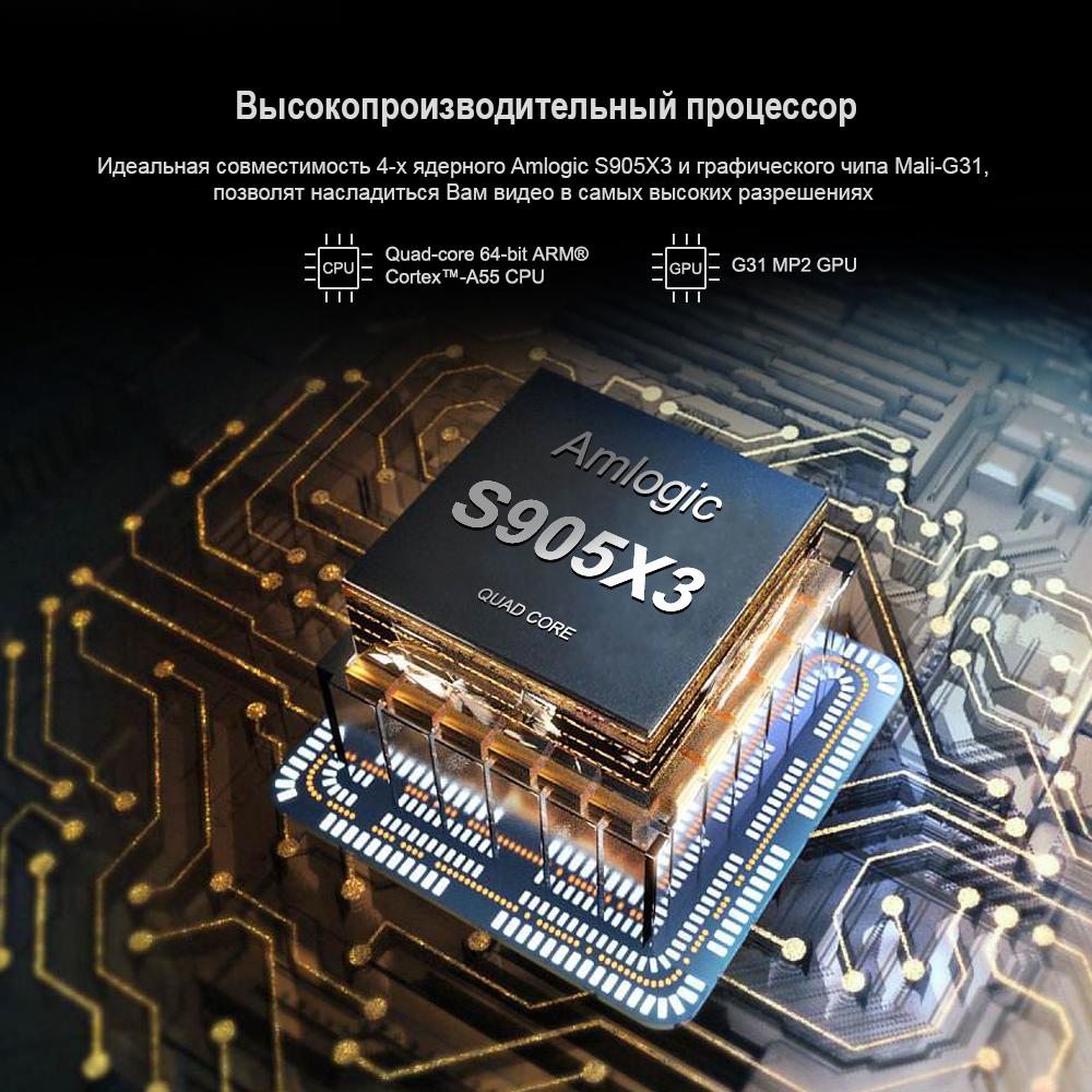 Android приставка на Amlogic X3 процесоре