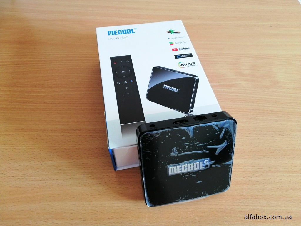 Android TV Box KM3