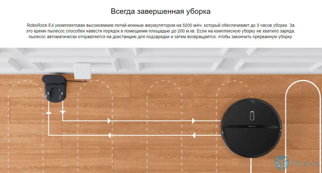 купить робот-пылесос Xiaomi RoboRock E4 E452-02 с доставкой