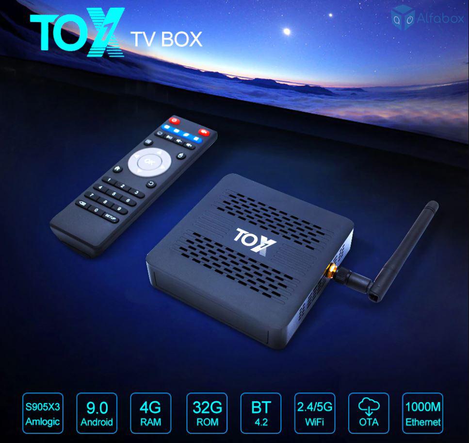 купить смарт-приставку TOX1