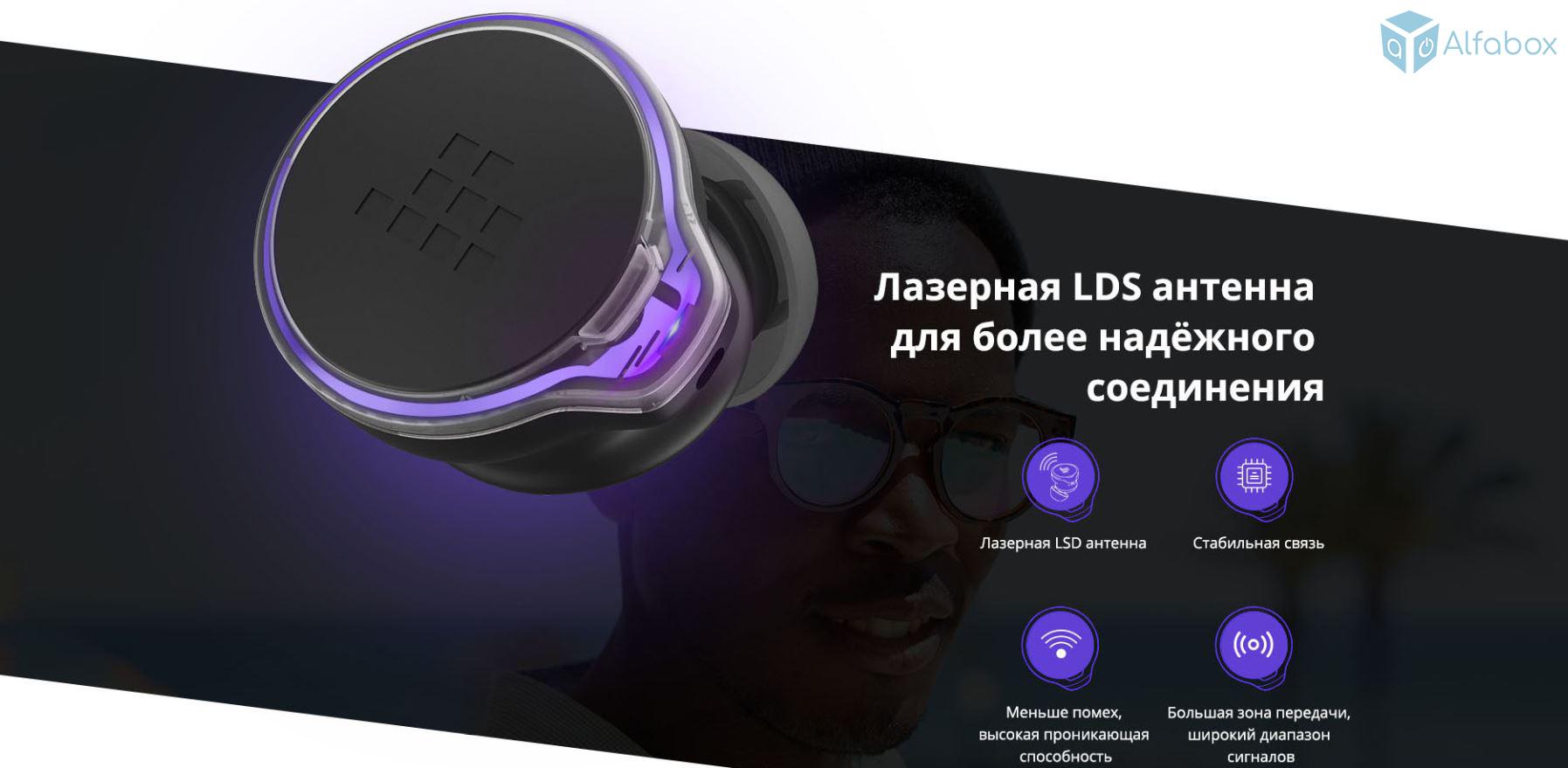 Беспроводные наушники Tronsmart Apollo Bold TrueWireless купить в украине