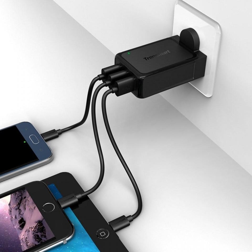 Купить TRONSMART W3PTA 42W 3-Port USB