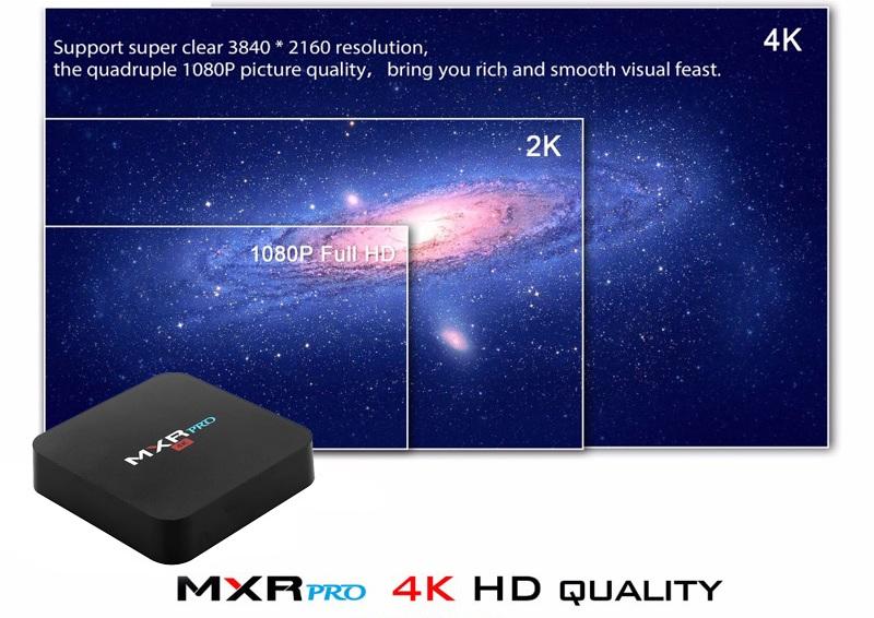 MXR PRO умеет показывать видео 4К