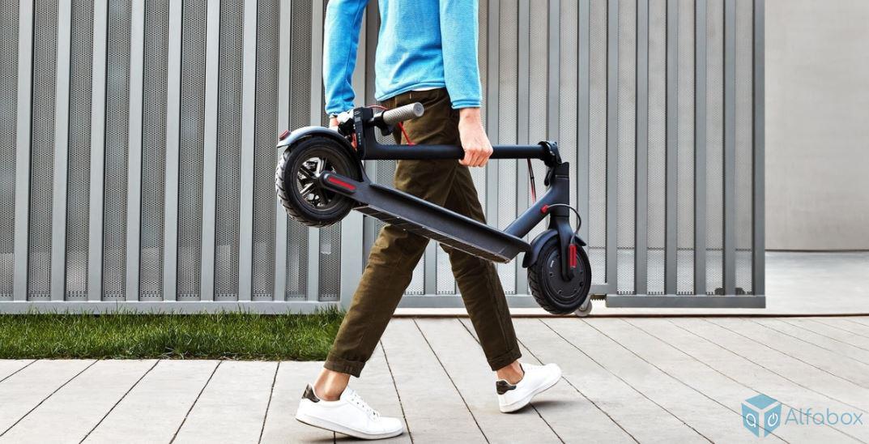 купить электросамокат Xiaomi Mi Electric Scooter 1S Black